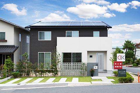 太陽光発電搭載の光熱費を限りなくフリーにする家|米子市両三柳