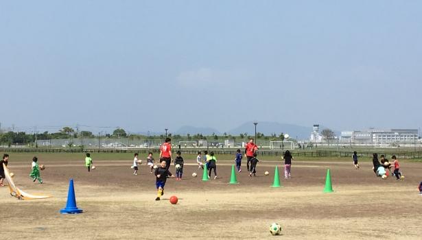 GW子どもサッカー教室を開催しました!