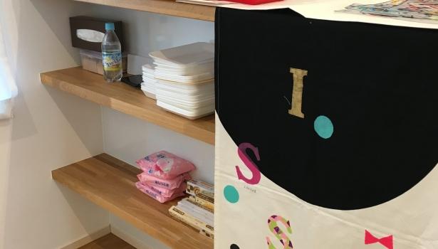 ひるままくらぶ♪ステンシルでTシャツ作り教室
