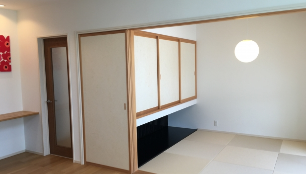 【生活提案】リビング続きの和室編
